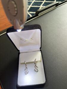 Kay Jewelers Jane Seymour Open Heart Diamond Sterling Silver Earrings
