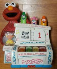 2002 Mattel Sesame Street Elmo's World Play & Pop Piano Musical Toy Lights Sound