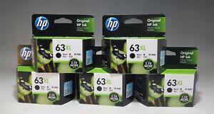 HP 63XL ink cartridge black (increase) F6U64AA 5 set Tracking