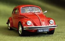 VW 1200 BEETLE COX RED IXO DEAGOSTINI PL34 1/43 VOLKSWAGEN KAFER ROSSO ROT URSS