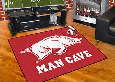 "Arkansas Razorbacks Man Cave 34""x43"" All-Star Area Rug Mat"
