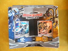 Topps Monsuno Trading Card Game Core-tech vs Storm Blue/Yellow Jakks Pacific NEW