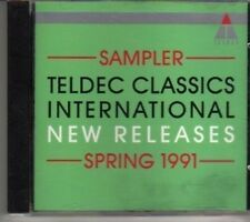 (BV446) The Teldec Sampler - Spring 1991 - DJ CD