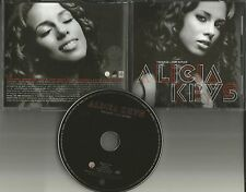 ALICIA KEYS Teenage Love Affair w/ INSTRUMENTAL PROMO DJ CD Single 2007 USA