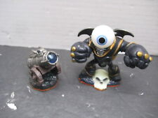 "Skylanders Video Game Character ""Eye Brawl""  Death Element & Dragon Fire Figures"