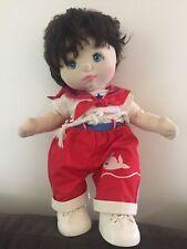 mattel 1985 my child doll Boy Sailor Rare Brown Blue Eyes