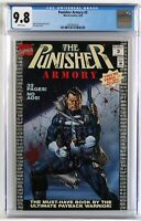 CGC 9.8 Punisher Armory #3 White pages WP, NEW CASE! Joe Jusko cover