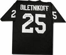 "Fred Biletnikoff Signed Autographed Jersey ""HOF 88"" Oakland Raiders w/COA"