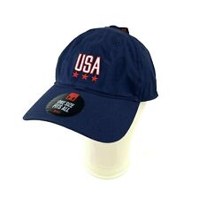 the best attitude 06baf f7aae Under Armour Mens OSFA Dad Hat USA HeatGear Blue Red One Size Fits All New