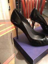 Stuart Weizman Black Patent Pointy Shoes (8)