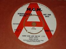 """Danny Hutton """"Funny How Love Can Be"""" MGM Demo 45 (Three Dog Night)"""