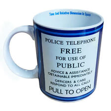 "DOCTOR WHO ""TARDIS"" Ceramic coffee mug 11 oz coffee tea cocoa NEW IN BOX"