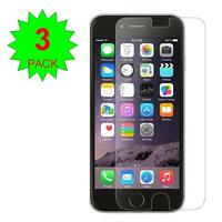 3X Clear Screen Protector Guard Shield Cover Film iphone 6 4.7/5.5 5S 5 4S +KIT