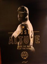 Jose Altuve Houston Astros Poster 2019 World Series Game 7 SGA Giveaway