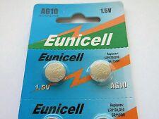 Elektromaterial Effizient 10 X Knopfzellen Alkaline Uhrenbatterien Ag10 L1130 Lr54 189 V10-0%hg Vinic