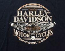 Harley Davidson American Classic Navy Blue Shirt Nwt Men's XL