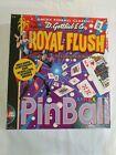 Vintage Pc Computer Game - Royal Flush Pinball  - Factory Sealed