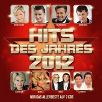 SANTIANO/DJ ÖTZI/ANDREA BERG/HELENE FISCHER/+ - HITS DES JAHRES 2012 (2 CD) NEU