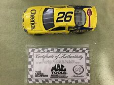 1998 Racing Champions Mac Tools JOHNNY BENSON #26 Cheerios 1/24 Diecast A