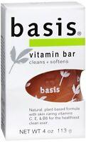 Basis Bar Vitamin 4 oz (Pack of 2)