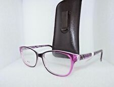NEW VIVID METRO VE 15 PURPLE EYEGLASSES GLASSES FRAMES LENSES 54-16-140 WOMEN'S