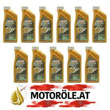 11x1 Liter Castrol Supercar 10W-60 Titanium FST Motoröl ACEA A3/B4, BMW M-Models