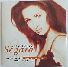 """HELENE SEGARA - CD SINGLE """"UNE VOIX DANS LA NUIT"""" - NEUF SOUS BLISTER D'ORIGINE"""