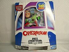 Toy Story Operation Buzz Lightyear Game Disney Pixar Complete Real Laser Sound