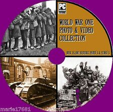 OVER 10,000 WW1 PHOTO & VIDEO 1914-18 FIRST WORLD WAR HISTORIC ARCHIVE NEW PCDVD