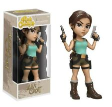 Funko - Rock Candy: Tomb Raider - Lara Croft Vinyl Action Figure New In Box
