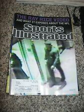 RAY RICE Sports Illustrated Magazine 9-15-14 (THE RAY RICE VIDEO ISSUE)