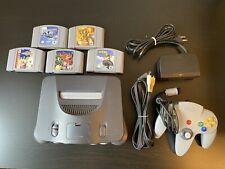 Nintendo 64 Spielekonsole mit 5 Spielen