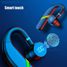 New listing Wireless Bluetooth 5.0 Earbuds Earpiece Trucker Driving Noise Cancelling Headset