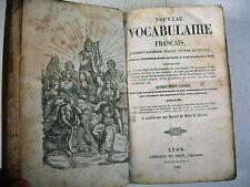 vocabulaire français d'ap Wailly Noel Chapsal 1843