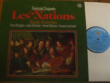 TK 11550/1-2 Couperin Les Nations / Quadro Amsterdam 2 LP set