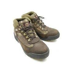 Timberland Mens Boots Sz 8.5 M Green Brown Camo Panel Side Camouflage