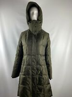 NWT Vince Camuto Olive Heavyweight Down Insulated Hooded Coat Women's Size M