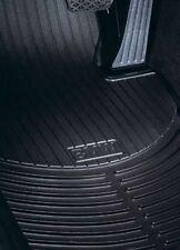 BMW Floormats E46 323i 325i Coupe Sedan Black Rubber Weather Front 1999-2005 OEM