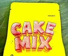 Lemonade Cake Mix Yellow 3.5g x50 Mylar Bag Smell Proof/HeatSealable With Labels