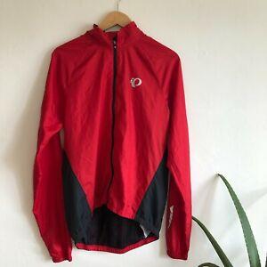 Men's Pearl Izumi Elite  Lite Jacket Size Large -Red