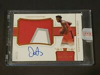 2017 National Treasures OG Anunoby RC Auto /25 SICK RPA Rookie Autograph SEALED!