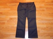 NOT YOUR DAUGHTER'S JEANS BOOT CHARCOAL JEANS WOMEN'S SIZE 14 - GREAT!