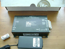 GE IFS DT1810 8 CHANNEL CONTACT MAPPING TRANSMITTER FIBRE OPTIC MULTIMODE FIBER