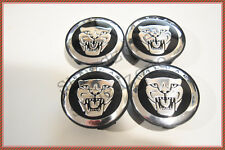 NEW SET OF 4 JAGUAR BLUE JAG WHEEL HUB CAPS LOGO RIM 59MM COVER EMBLEM CAPS