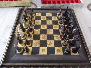 jeu d echecs avec pieces de luxe bien qualite