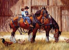 Back To The Barn Horse 1000 pieces Jigsaw Puzzle Cobble Hill 80155