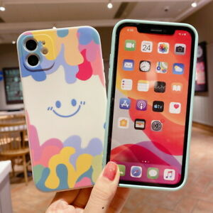 Shockproof Silicone Rubber Soft Case Cover For iPhone 12 11 Pro MAX XS XR 8 7 SE