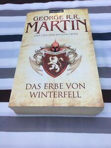 Das Erbe von Winterfell-Das Lied von Eis und Feuer Bd. 2  George R. R. Martin