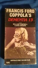 Dementia 13 1963 VHS (Good Times Video) Francis Ford Coppola