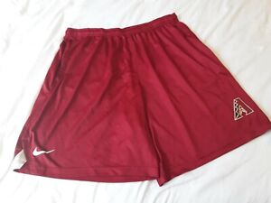 NIKE MLB ARIZONA DIAMONDBACKS DRI FIT AUTHENTIC  SHORTS MENS SIZE 3XL BSBL